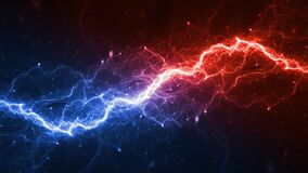 Free Hot Fire And Ice Cold Plasma Background Royalty Free Stock Photography - 195932667