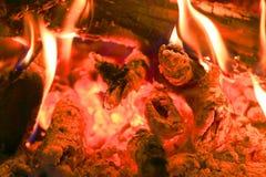 Hot fire Stock Photo