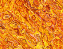 Hot fire wavy texture backgrounds Royalty Free Stock Photo