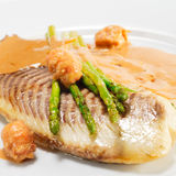 Hot Fish Dishes - Rockfish Fillet Royalty Free Stock Images