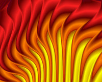 Hot Flames. Abstract background that looks like hot fiery flames Stock Photo