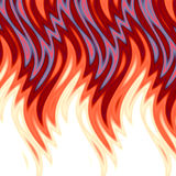 Hot Flames Background.  Royalty Free Stock Image