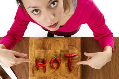 Hot food Royalty Free Stock Photography