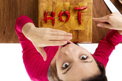 Hot food Stock Photography