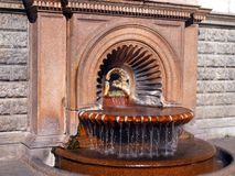 Hot fountain Stock Images
