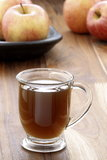 Hot fresh apple cider Stock Photography