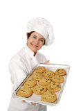 Hot Fresh Cookies Stock Photo
