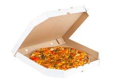 Hot fresh pizza Royalty Free Stock Photography