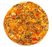 Hot fresh pizza Stock Photography