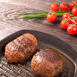 Hot fresh steaks on pan Stock Images