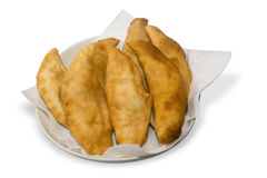 Hot fried Calzone Stock Photos