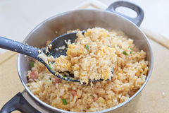 Hot fried rice Royalty Free Stock Photo