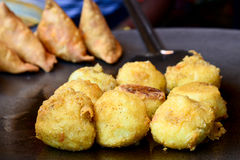 Aloo vada Stock Photos
