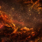 Hot galaxy (inside view) Stock Photography
