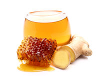 Hot ginger tea Stock Photos