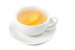 Hot ginger tea in a cup Stock Photos