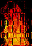 Hot glass Stock Photography
