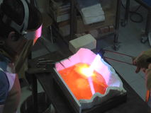 Hot Glass stock video