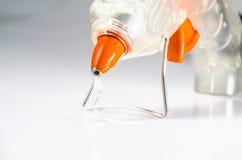Hot glue gun  : close up. Royalty Free Stock Photo