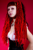 Hot gothic girl Royalty Free Stock Photography