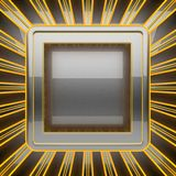 Hot gray metal background Royalty Free Stock Photos