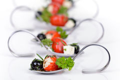 Hot Greek appetizers Royalty Free Stock Photo