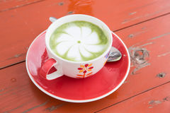 Hot green tea Stock Image