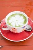 Hot green tea Stock Photography