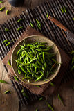 Hot Green Thai Chili Pepper Royalty Free Stock Photography