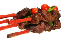 Hot grilled beef meat Stock Image