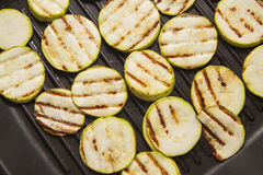 Hot grilled squash Royalty Free Stock Photography