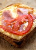 Hot grilled toast Stock Photo