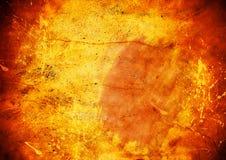 Hot Grunge Background. Warm orange textured Grunge background Stock Photography
