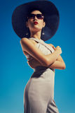 Hot in hat a Royalty Free Stock Images