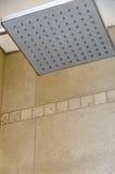 Hot head of a rain shower. Dry quadratic hot head of a rain shower royalty free stock photos