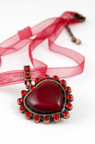 Hot heart Royalty Free Stock Image