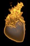 Hot heart. 3d image of hot heart Royalty Free Stock Photo