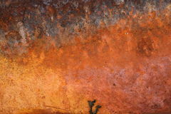 Hot hell. A hellish looking rusty background Royalty Free Stock Photography