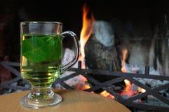 Hot herbal tea Royalty Free Stock Image