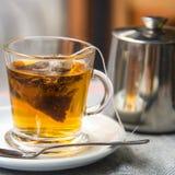 Hot herbal tea Royalty Free Stock Images