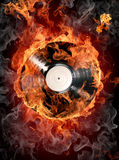 Hot hits royalty free illustration