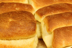 Hot home made buns Stock Image
