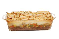 Hot Homemade Shepards Pie Stock Photos