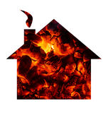 Hot house conept Stock Image