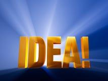 Hot Idea! Stock Photo
