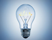 Hot idea Royalty Free Stock Images