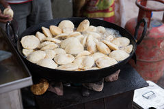 Hot Idlis Being Cooked Stock Photography