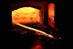 Hot iron Stock Image