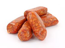 Hot Italian Sausage Links Royalty Free Stock Photography