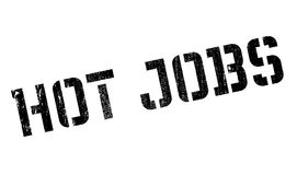 Hot Jobs rubber stamp Royalty Free Stock Photo